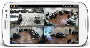 business security cameras edmonton - smart phone integration