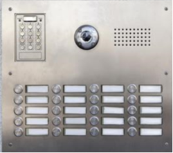 edmonton intercom systems - intercom panel